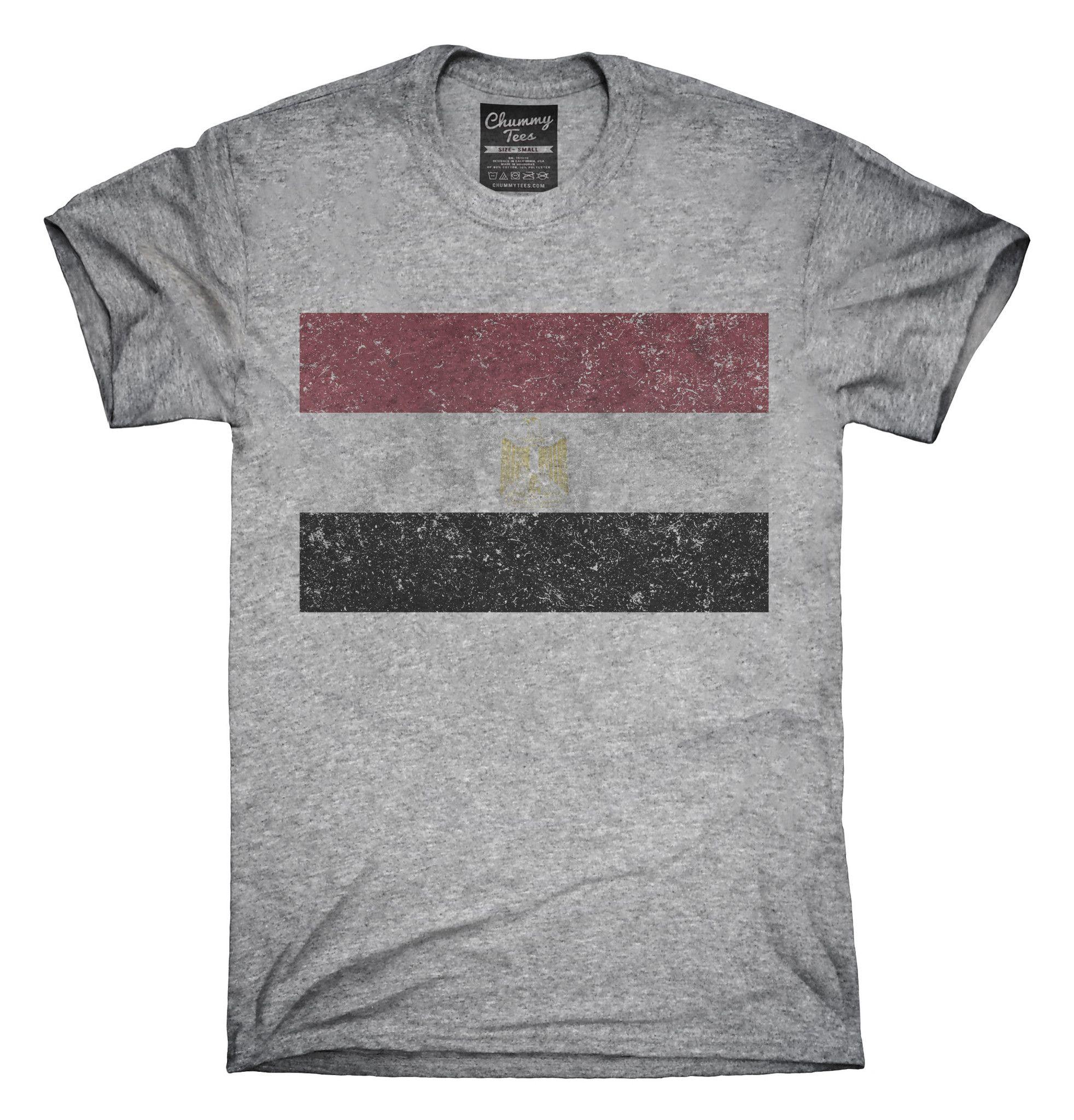 Retro Vintage Egypt Flag T-Shirts, Hoodies, Tank Tops