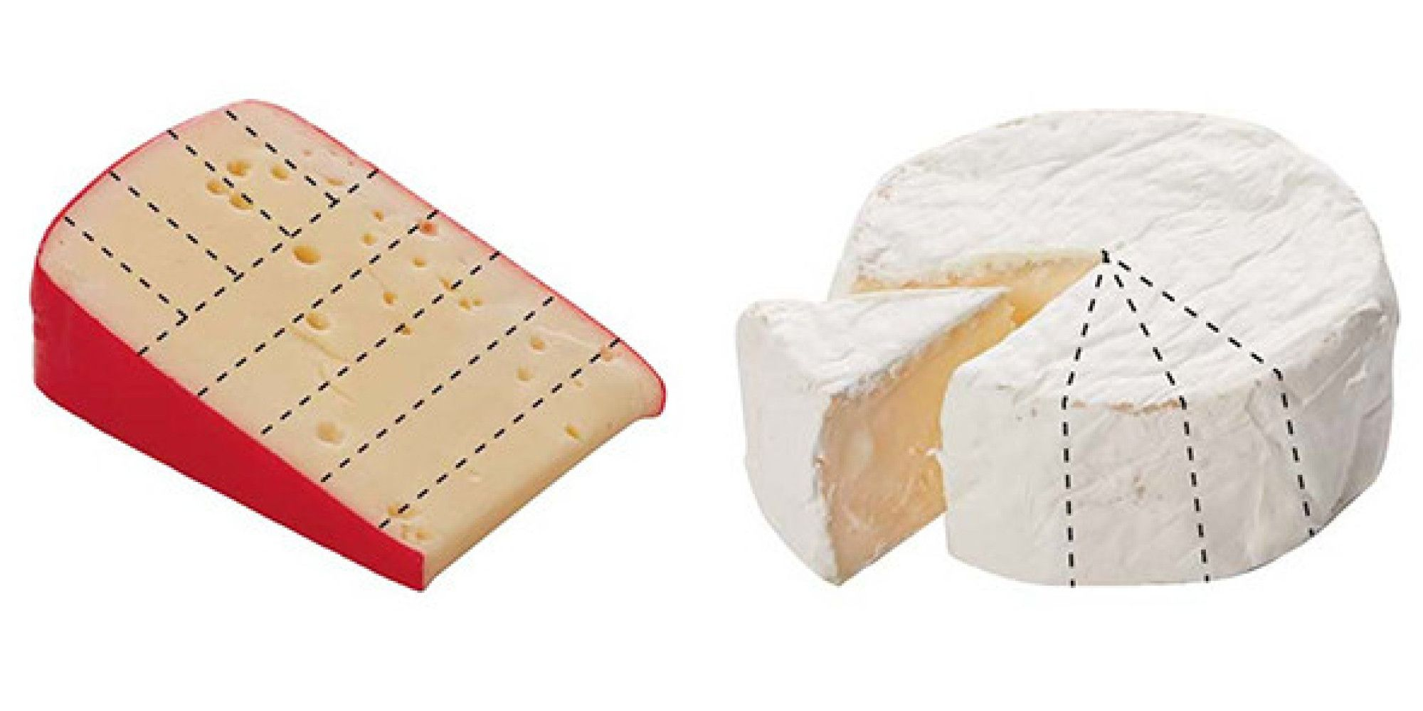 How to cut every shape of cheese