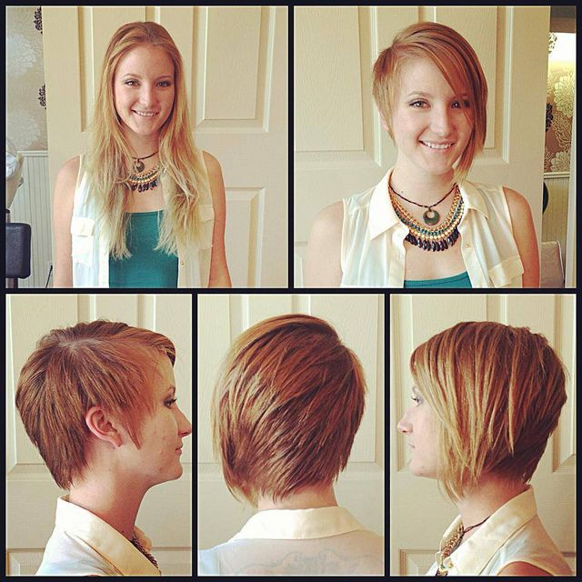 Long to short makeover | Salons, Austin texas and Local hair salons
