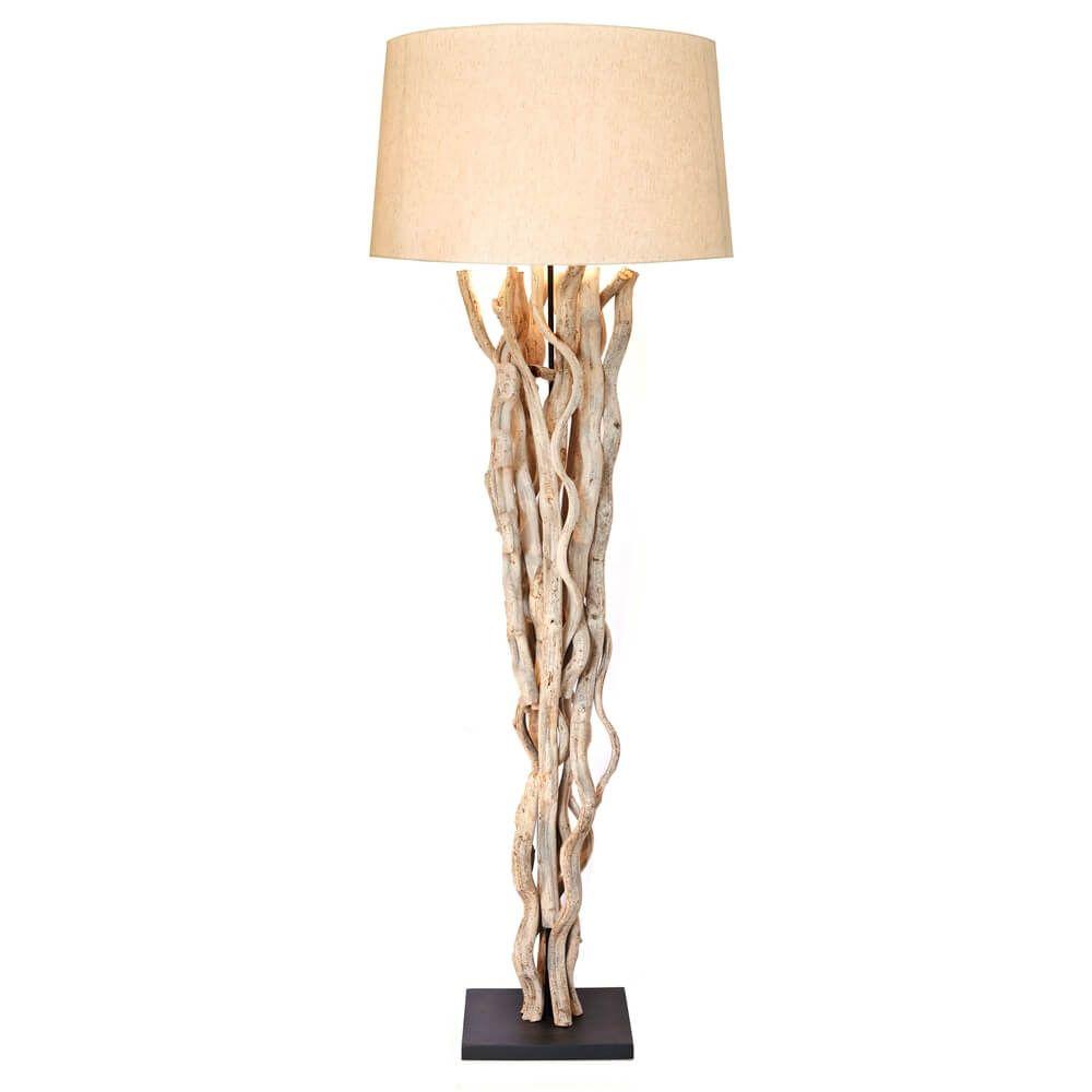 Bemerkenswert Stehlampe Mit Schirm Das Beste Von Sit Stehleuchte 1099-10 Gestell Und Natur Jetzt