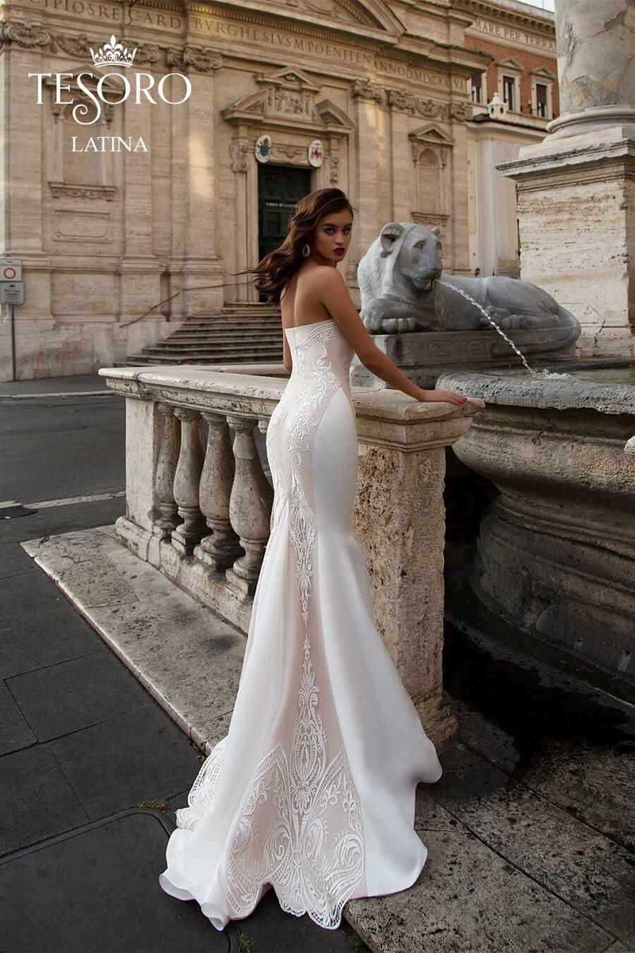 Latina Wedding Dress By Tesoro Wedding Dresses Dresses Latina