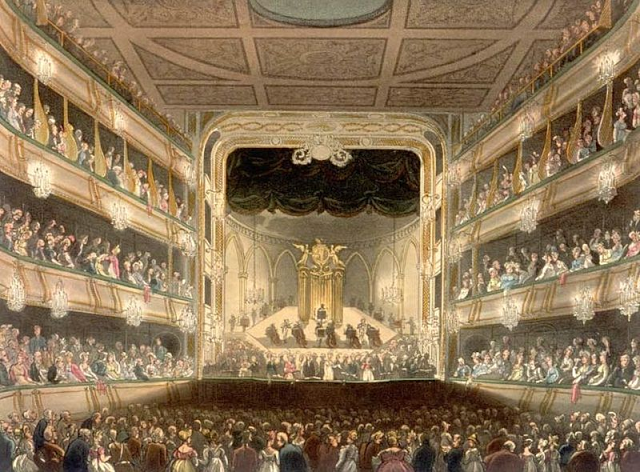 Covent Garden Opera House in 1808