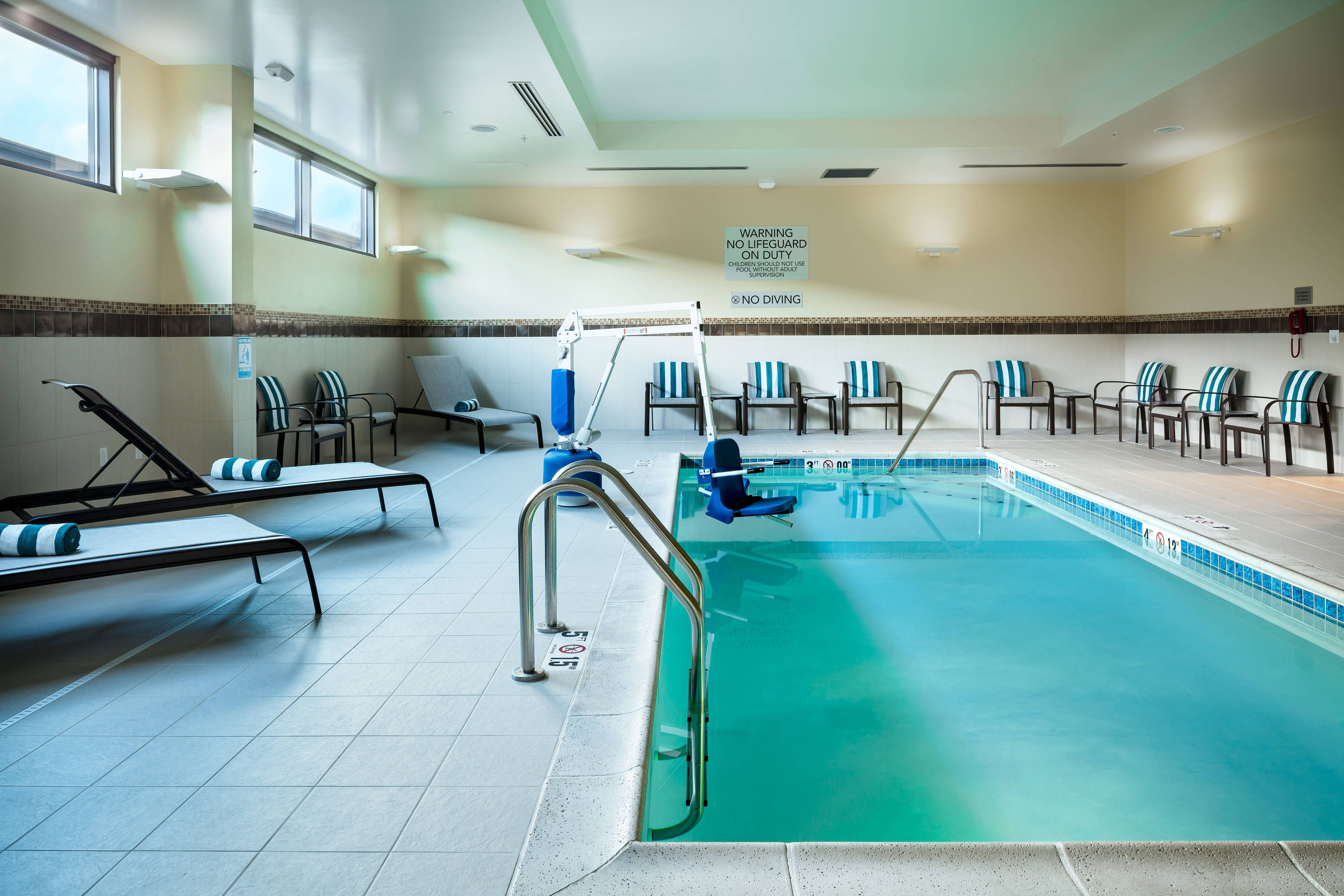 Courtyard Corvallis Indoor Pool #Relax, #Beautiful, #Happy,
