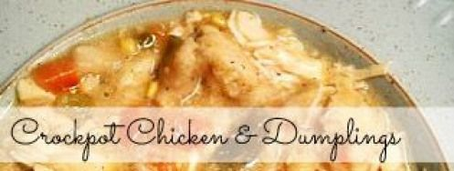 The Best Crock Pot Chicken and Dumplings Recipe | Budget Savvy Diva #paleoforbeginners #chickendumplingscrockpot