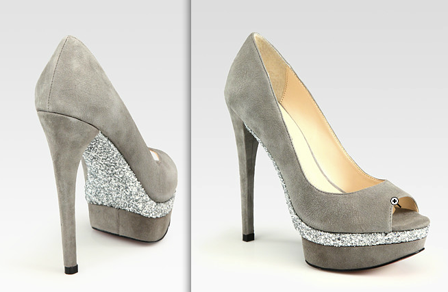 it's almost like hidden glitter! which makes these shoes even more awesome.
