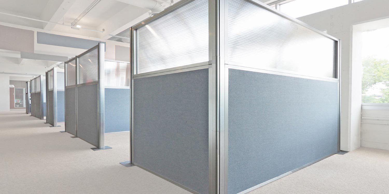 Hush Panel Configurable Cubicle Partition Cubicle Partitions