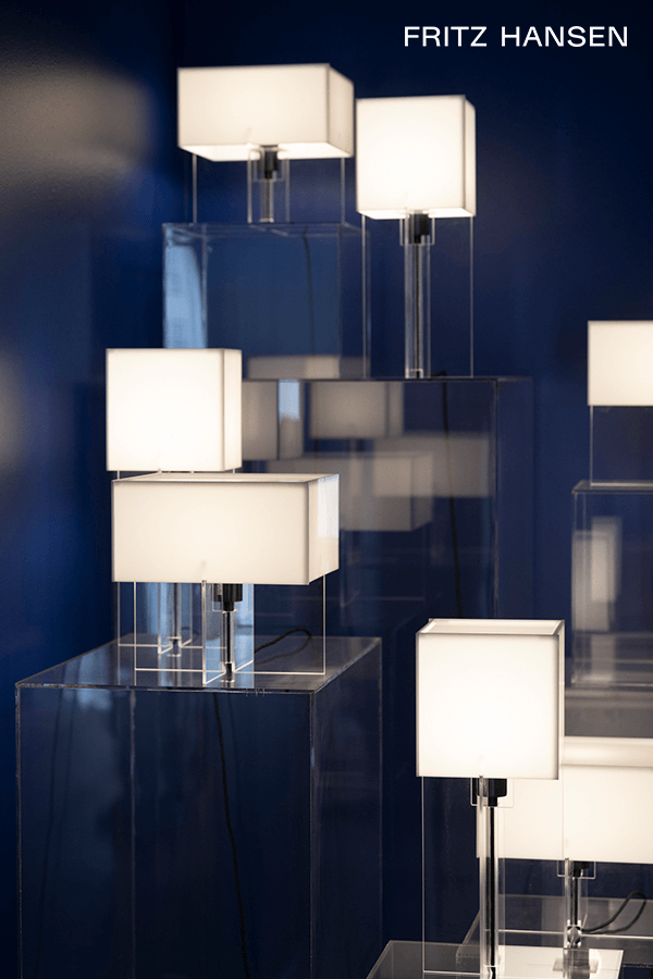 Cross Plex Lamp First Saw The Light Of Day In 1961 In 2020 Lamp Interior Design