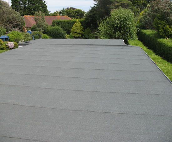 A Completed Torch On Roofing System Benchmark Roofing Flat Roof Flat Roof Systems Fibreglass Flat Roof