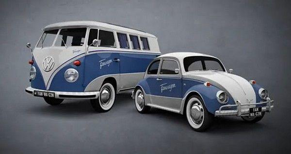 Inspiration du combi par la coccinelle vw classic auto - Dessin coccinelle voiture ...