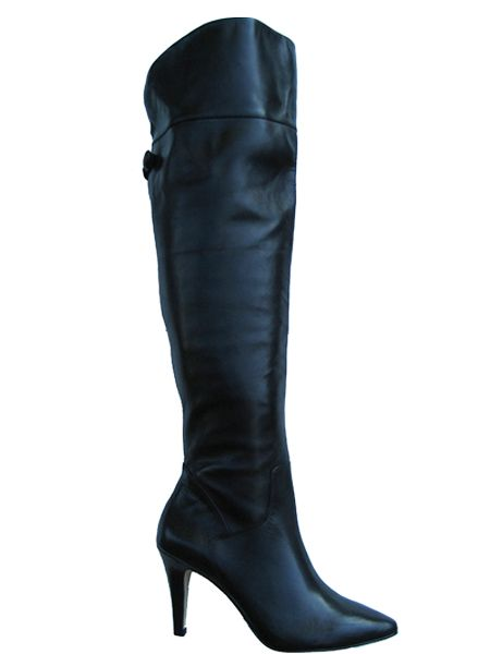4b110a9b23a8f Ros Hommerson Women's Shirley Super Wide Calf™ Over-the-Knee Boot (Black)