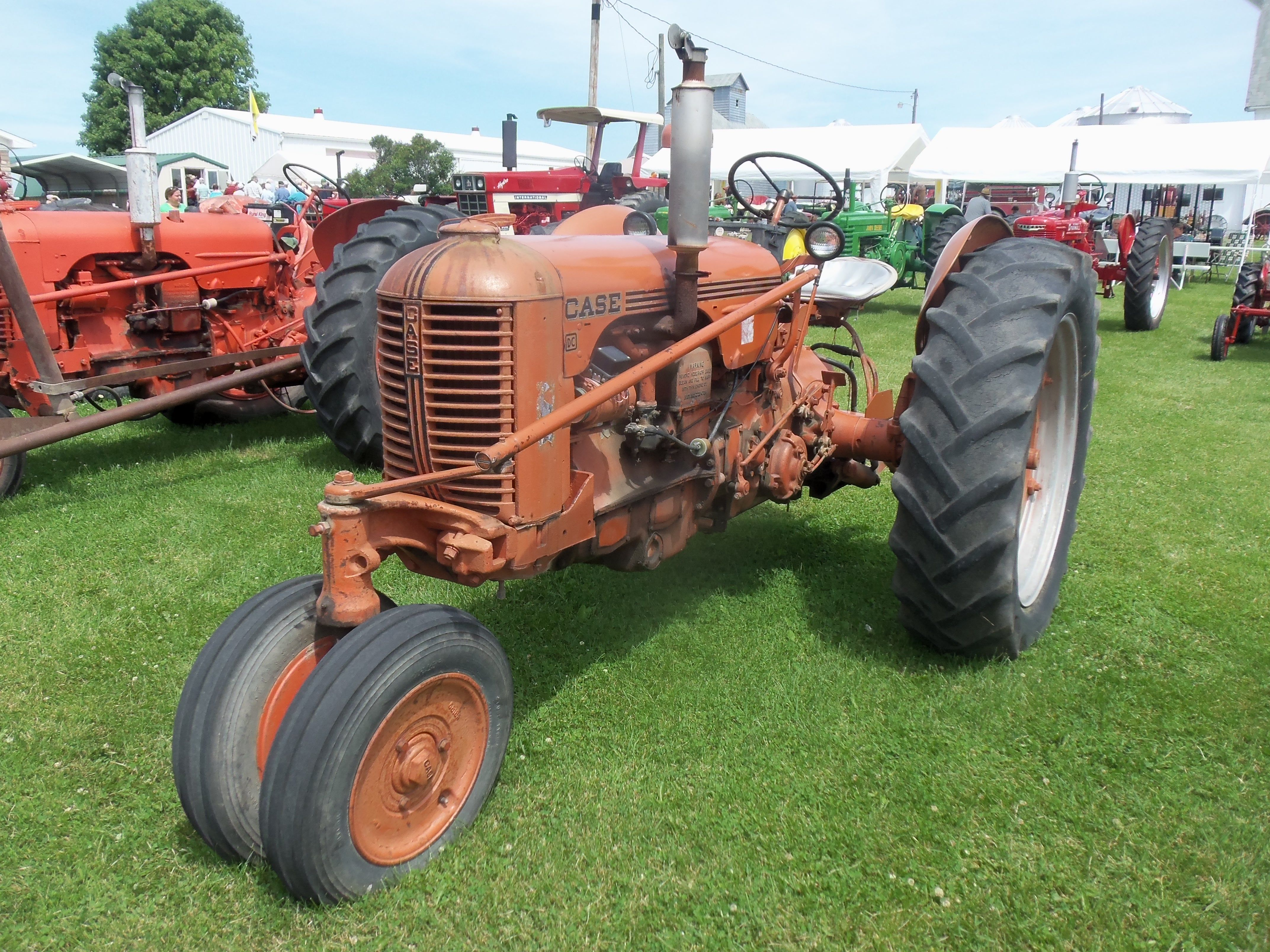 Old Case Tractor : Case dc tractor j i equipment pinterest
