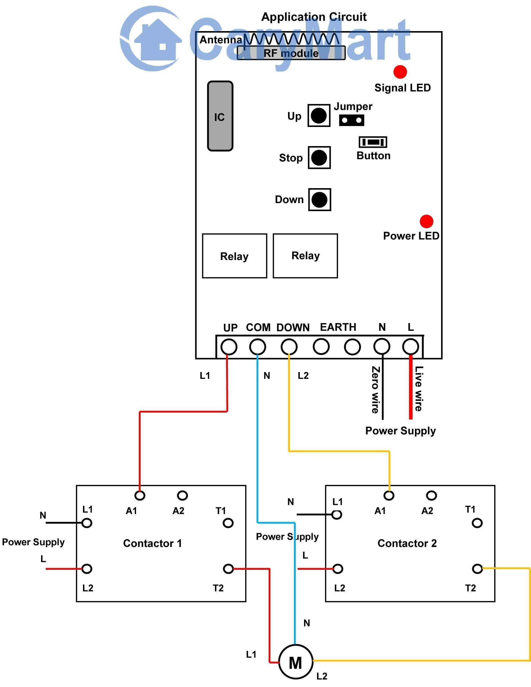 Unique Wiring Diagram For Mechanically Held Lighting Contactor
