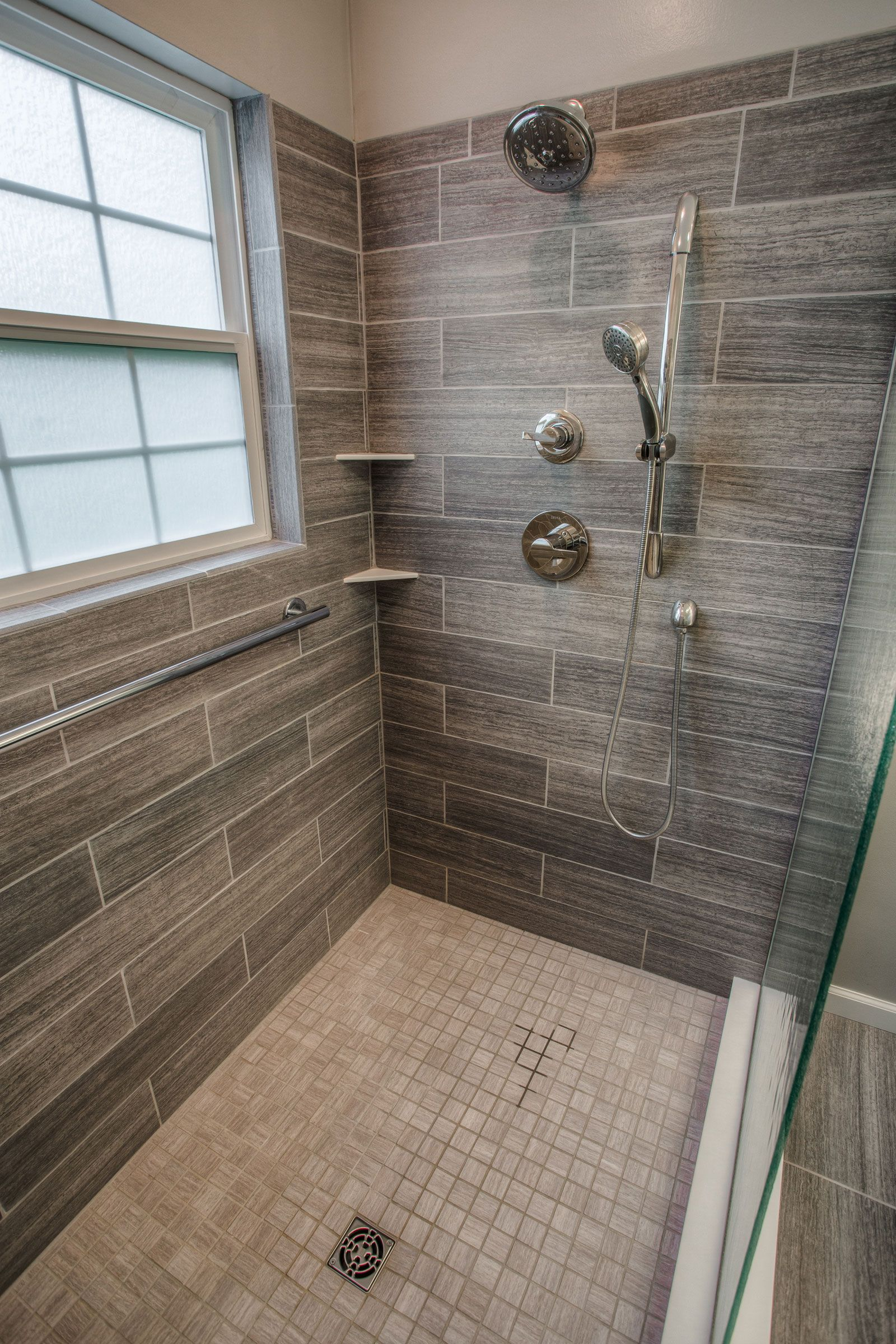 Cibuta West Lafayette Contemporary Shower Remodel 3 ...