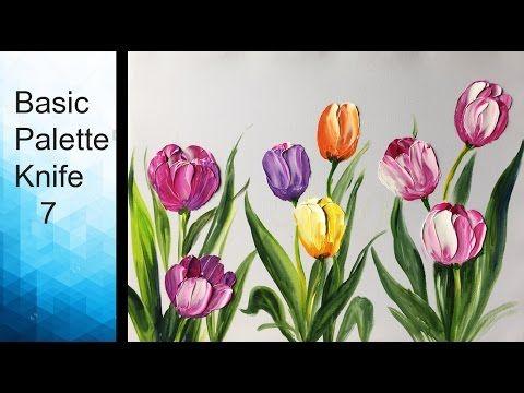 Easy Way To Paint Tulips For Beginners Ein Einfach Weg Tulpen Zu