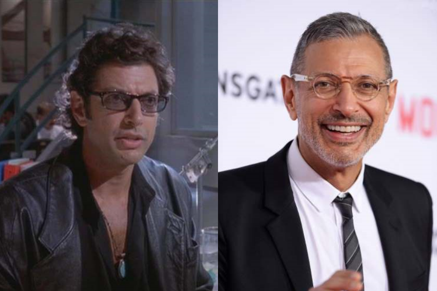 Then and Now Jurassic Park Celebrities then, now