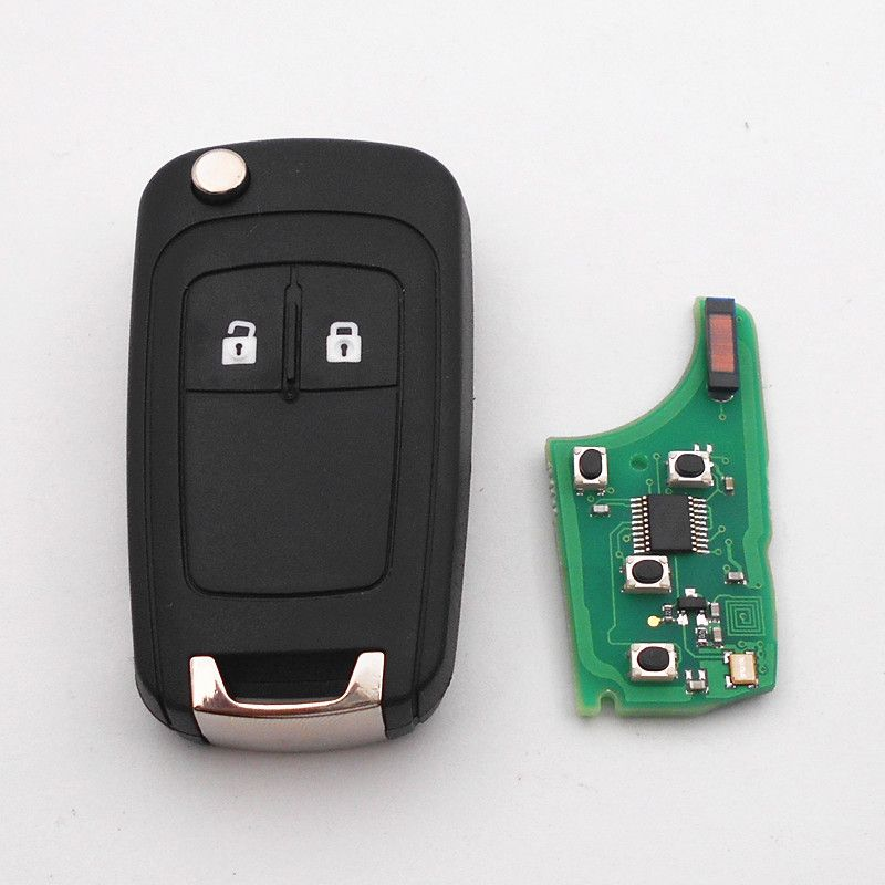 2 Buttons Remote Key 315 433mhz For Vauxhall Opel Insignia Astra J