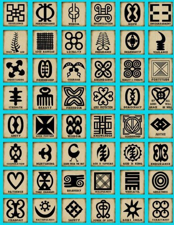 Adinkra Symbols Pinterest Adinkra Symbols Symbols And Symbol