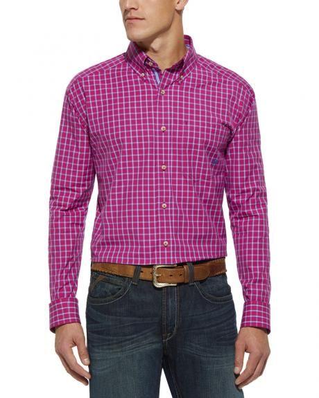 Ariat Nyack Raspberry Check Shirt