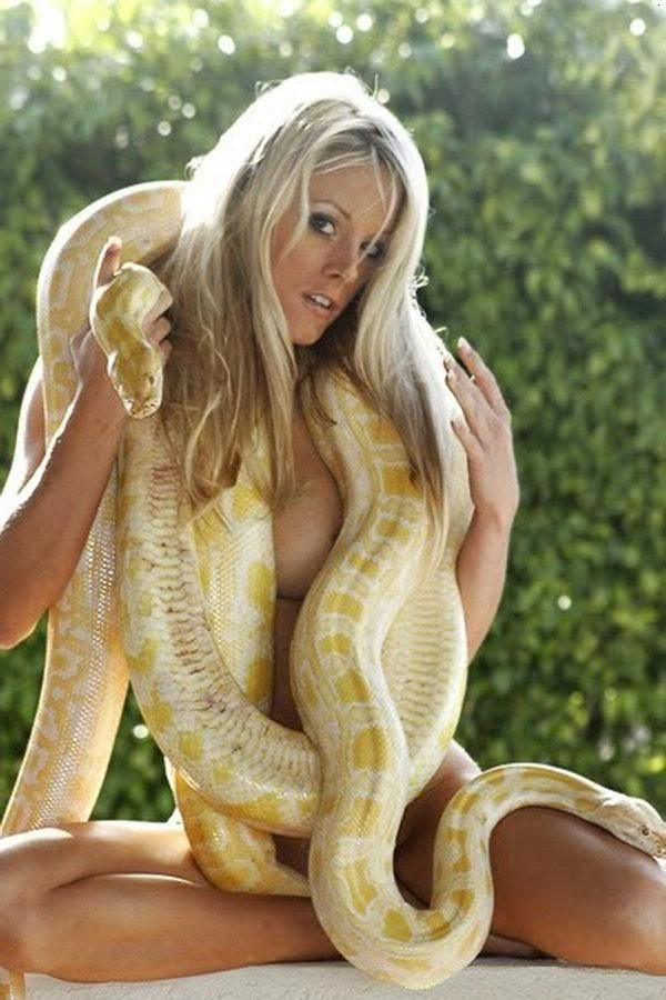 reptiles and nude women