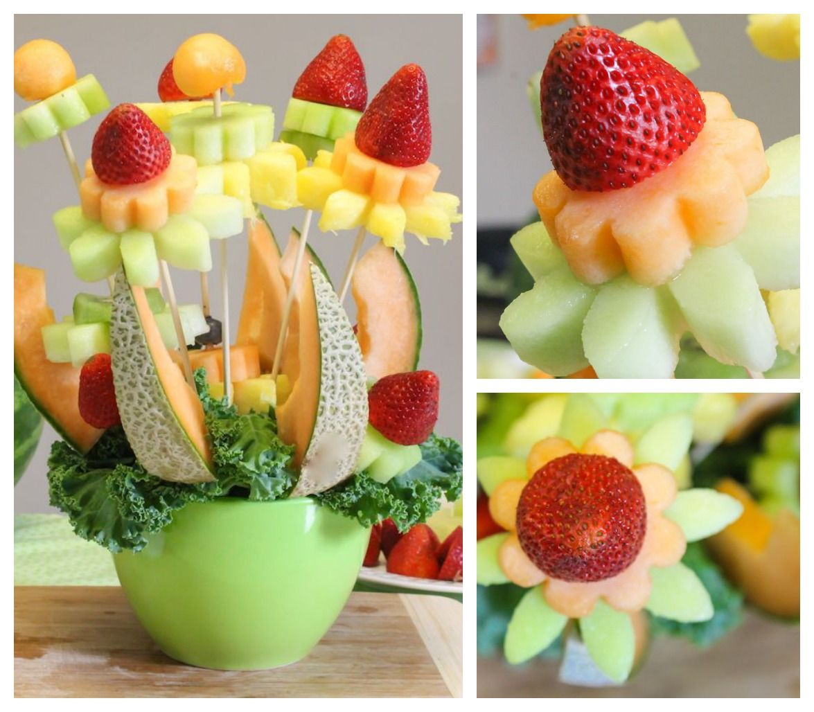 how to make a diy fruit bouquet (it's easier than you think