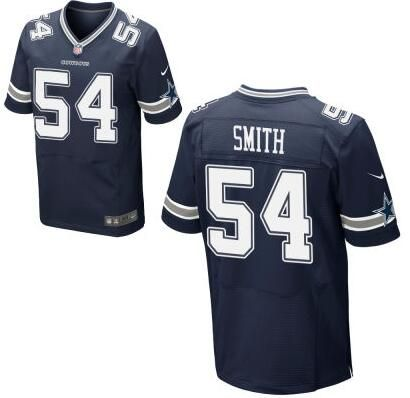 Cheap Men's Dallas Cowboys #54 Jaylon Smith Nike Navy Blue Elite 2016  for sale