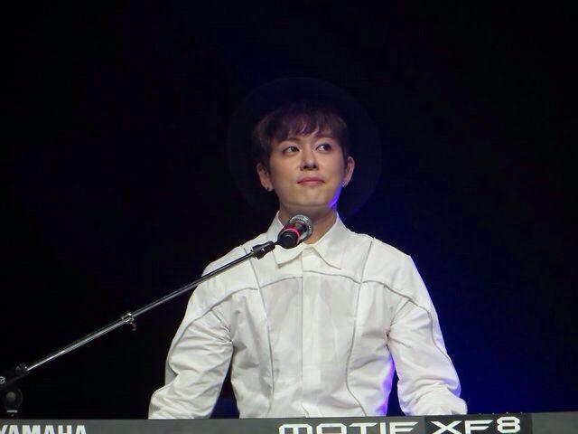 Donghyun solo Picture from BOYFRIEND's Chicago US Showcase Concert.