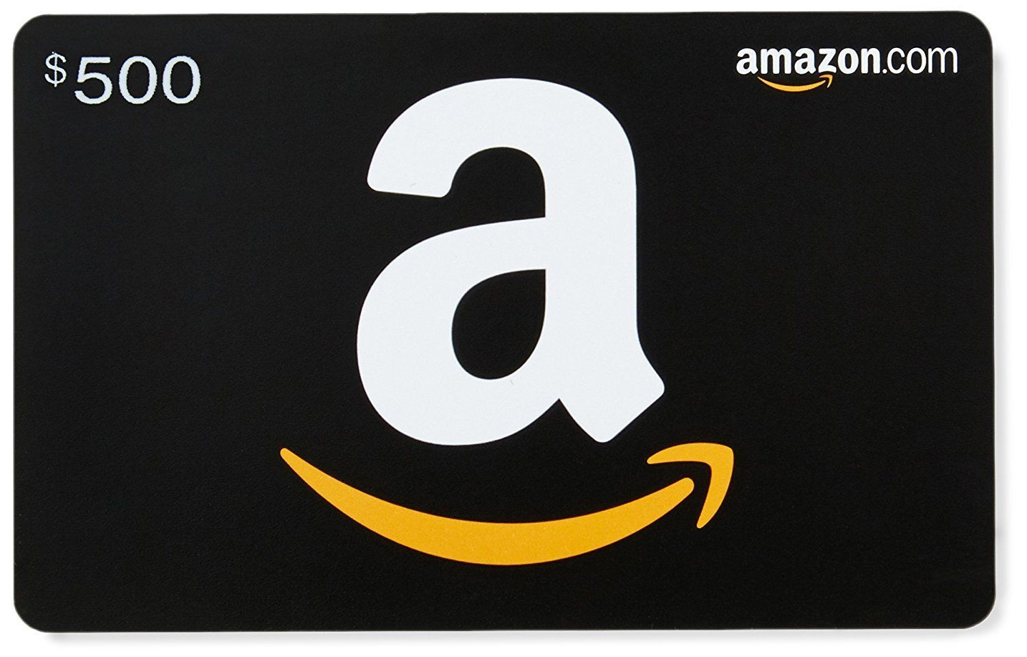 500 amazon gift card physical card fast 2 day free