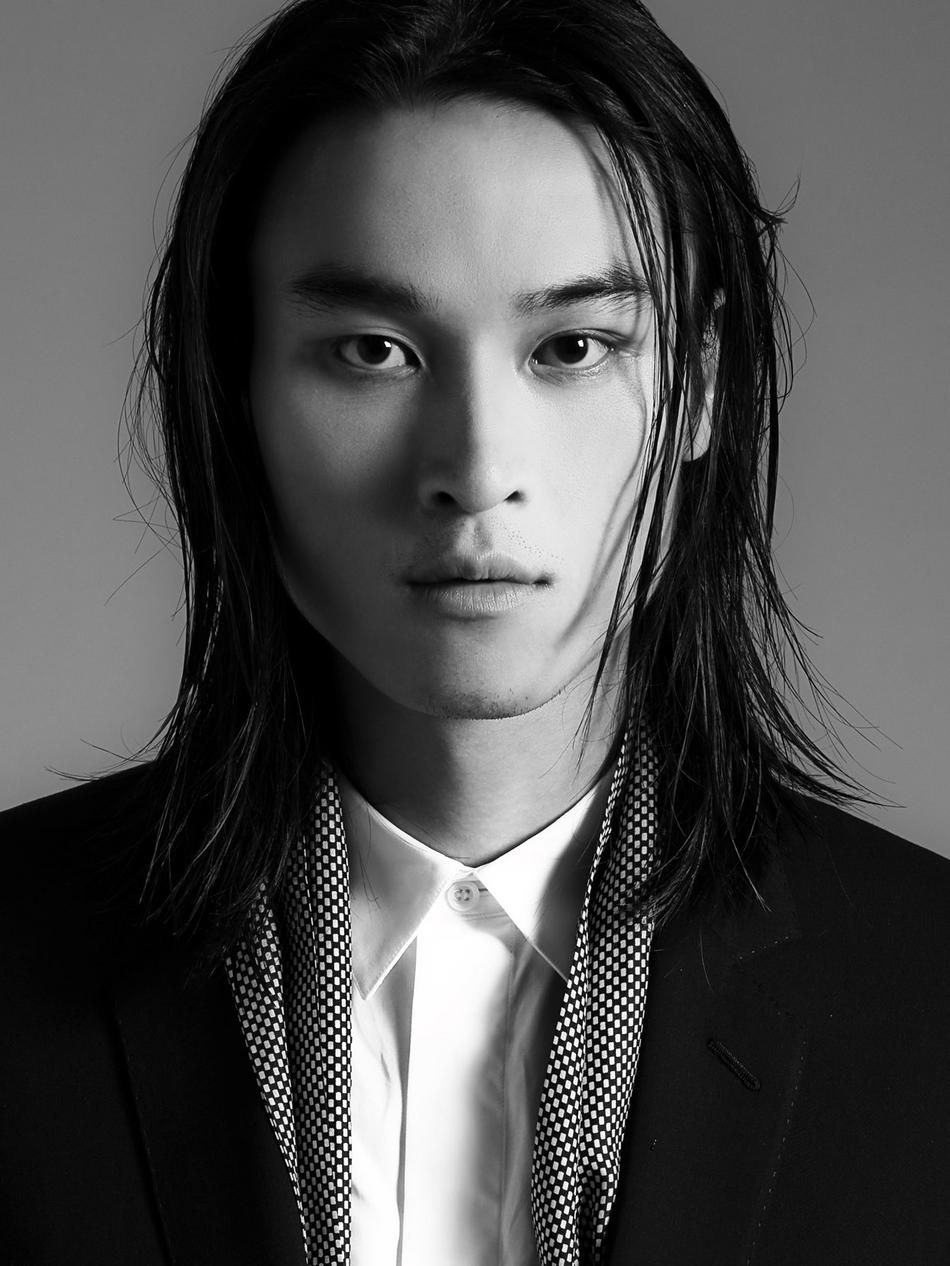 model asian male model long hair asian model asian male