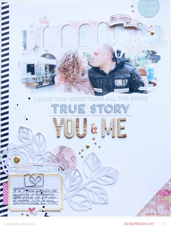 Papercraft Scrapbook Layout You Are My Light By Lory At