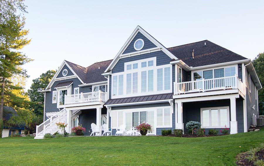 Lake House Paint Colors Lake Houses Exterior House Exterior