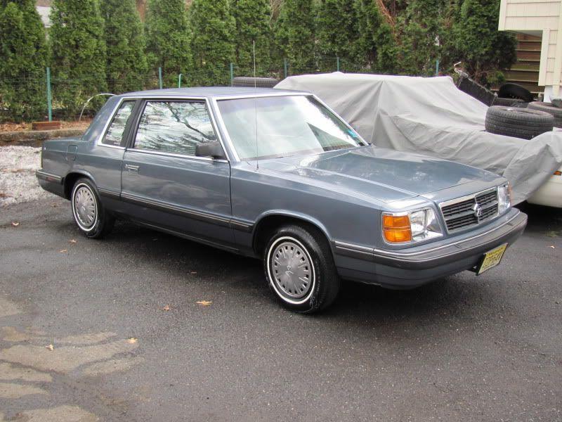 1986 Chrysler Volare K Car Chrysler My Dream Car