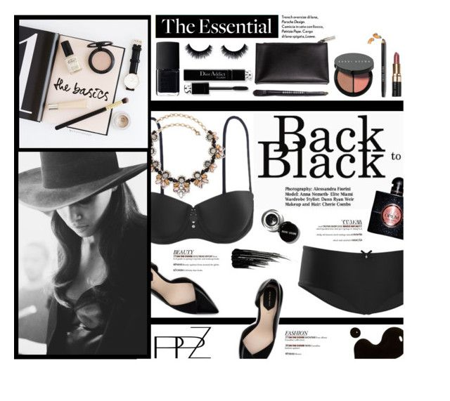 """PPZ.com - Back to Black"" by federica-m ❤ liked on Polyvore featuring mode, Zara, Palm Beach Jewelry, Prada, Cushnie Et Ochs, NARS Cosmetics, Bobbi Brown Cosmetics, Yves Saint Laurent, Urban Decay et black"