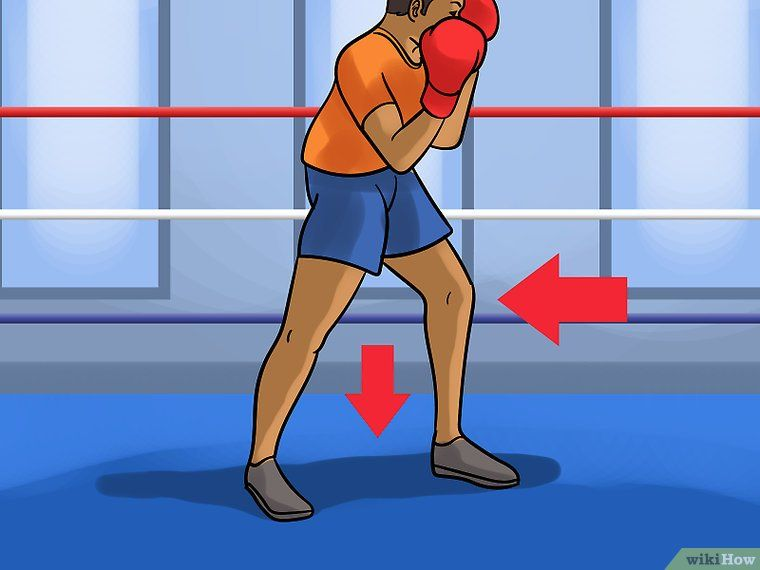 How to bob and weave in boxing 12 steps with pictures