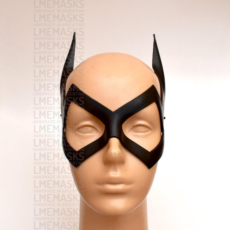 Batgirl New Mask Comic 28 Leather Cosplay DC Halloween