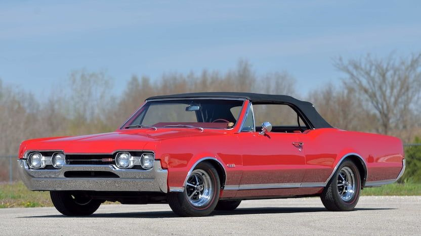1967 Oldsmobile 442 Convertible | F120 | Indy 2018 | Mecum Auctions