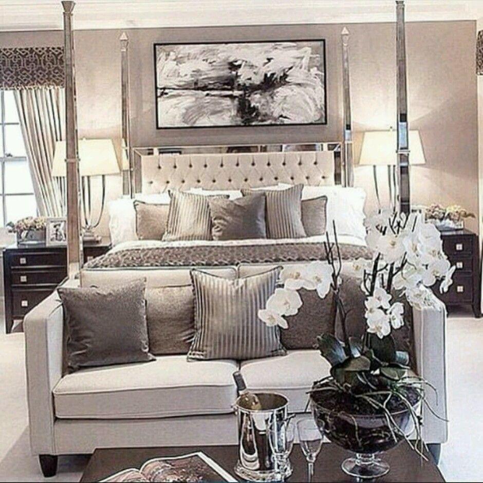 Sophisticated grey bedroom master bathroom pinterest gray