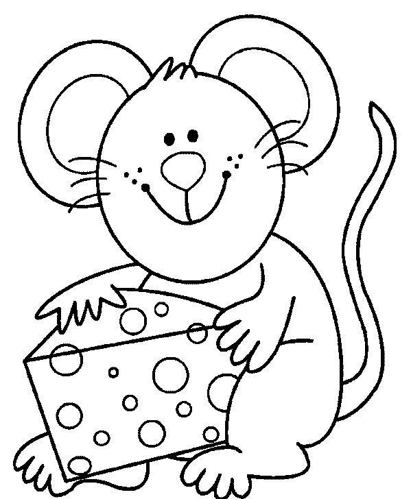 Gambar Belajar Mewarnai Untuk Anak Anak Gambar Tikus Places To