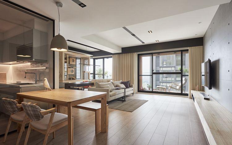 Inneneinrichtung Wohnung katzenspielplatz moderne wohnung offen modern design