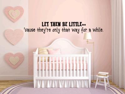 Vinyl Wall Decor ~ Baby Nursery Collection