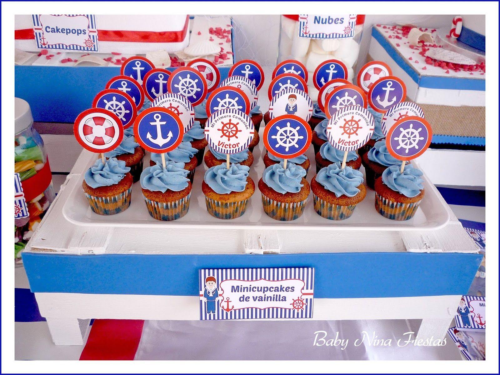 Minicupcakes foooooood pinterest for Mesa dulce marinera