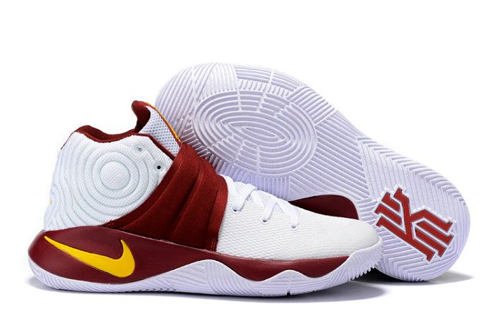f3a2f85f1da1 ... get free shipping only 69 nike kyrie 2 pe returns to the cavs white  burgundy 17136