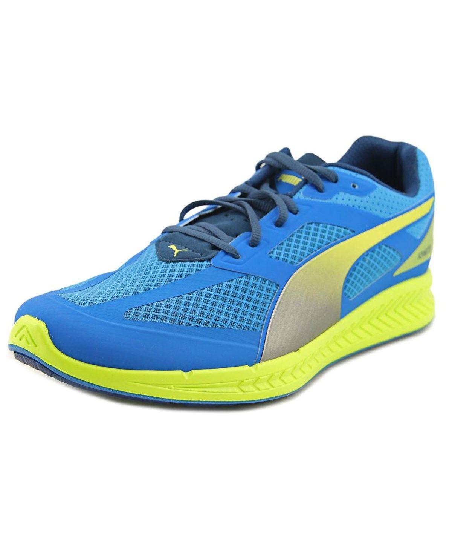 PUMA Puma Ignite Mesh Men Round Toe Synthetic Blue Sneakers
