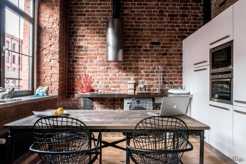 1000 images about cuisine avec lot on pinterest - Cuisine Esprit Loft Industriel