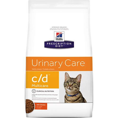 Hill S Prescription Diet C D Multicare Feline Urinary Care With Chicken Dry Cat Food Petflow Diet Cat Food Dry Cat Food High Fiber Cat Food