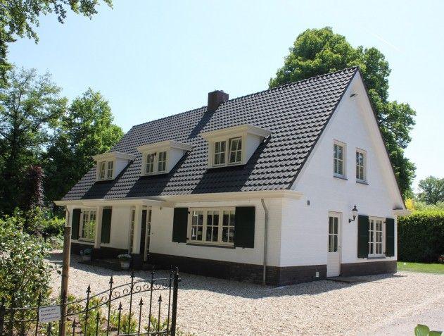 Pin van selekthuis op landelijk pinterest huizen landhuizen en gevelbekleding - Huis ingang ...