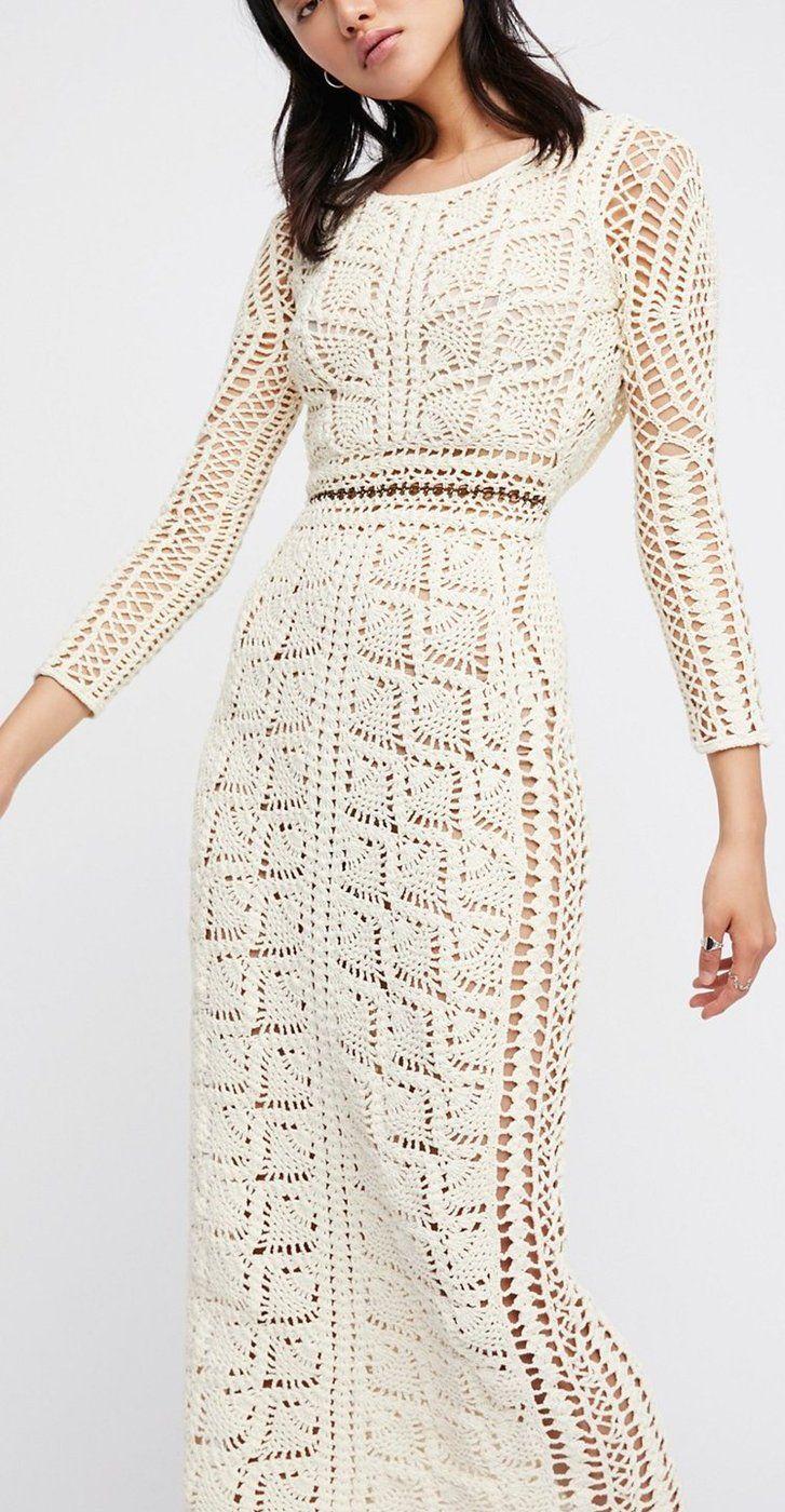 FP Maya Crochet tunic