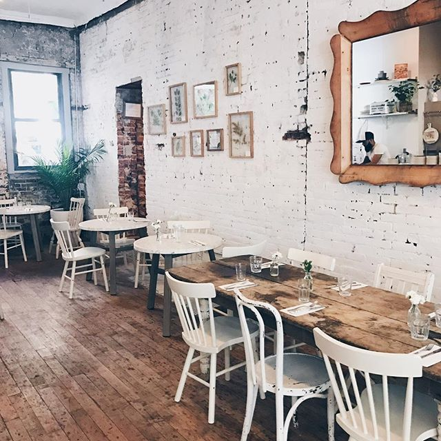 chez @_mamannyc_ - the most perfect coffee shop in SoHo ...