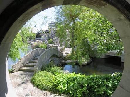 Window view Chinese garden inspiration Pinterest Chinese - chinesischer garten brucke