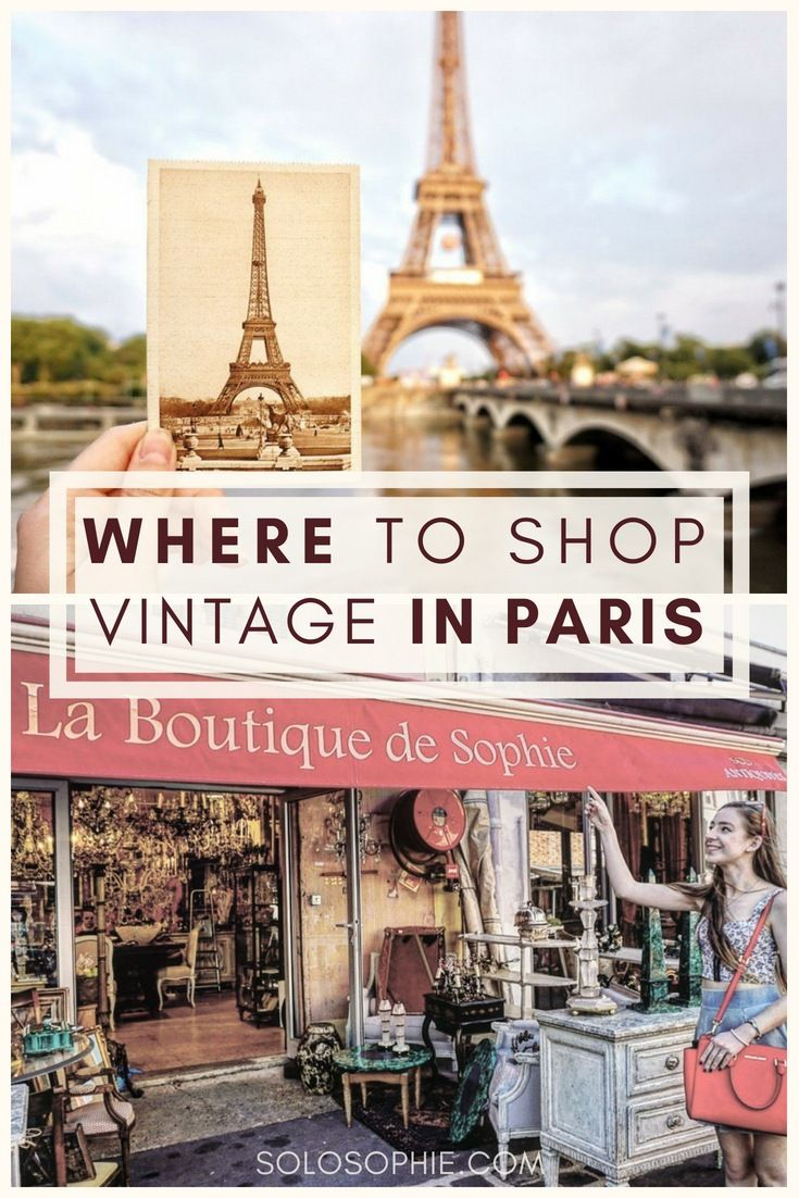 Visiting Le Marché aux Puces de Saint-Ouen: The Best Flea Market in Paris, France. Here are top tips for shopping vintage in the French capital; how to reach the market and the best time to go! #vintage #paris