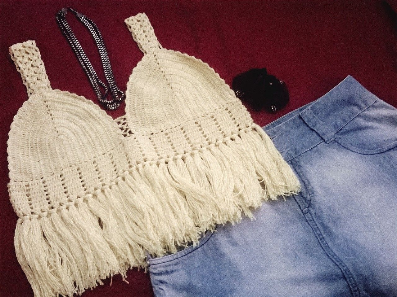 #croche #topcropped